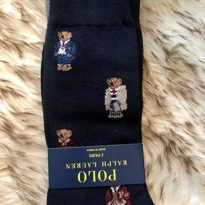 Ralph Lauren Polo bear socks